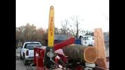 Homemade Firewood Processor Detroit Diesel Powered_(360p)