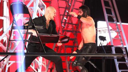Seth Rollins vs. Baron Corbin - Intercontinental Championship Tables, Ladders & Chairs Match: Raw, Dec. 10, 2018