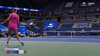Serena Williams vs Victoria Azarenka Semi-finals Us Open 2020 Highlights