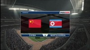 Pro Evolution Soccer 2015 Pc Gameplay { China - North Korea }