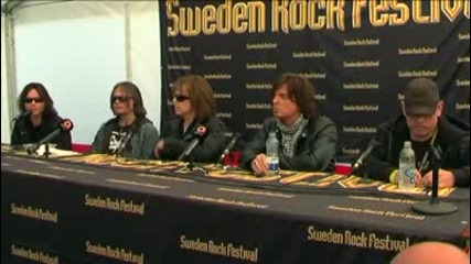 Europe - Press Conference Srf - 2