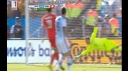 Аржентина 1:0 Швейцария (бг аудио) Мондиал 2014