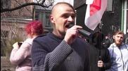Ukraine: Far-right groups rally support for Belarusians fighting in Ukraine