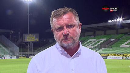 Павел Върба с остра критика към играчите на Лудогорец