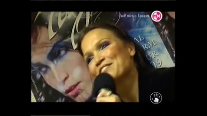 Interview with Tarja from Fractura