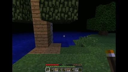 Майнкрафт Оцеляване с мен gameplay_gamer епизод 9 къща на дърво 3