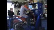 тунинг на Yamaha Aerox 1000кубика!даже от ауспуха излизат пламаци!