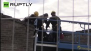 'Sweets Way Estate' Squatters Evicted by Cherry-Picker