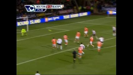Bolton - Blackpool 2:2 гол на Мартин Петров