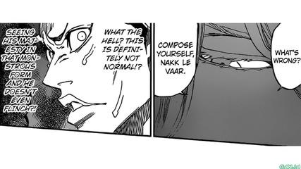 Bleach manga 626 (bg sub)