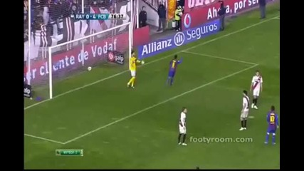 Rayo Vallecano vs Barcelona 0 7 All Goals Highlights Hd 29.04.2012.