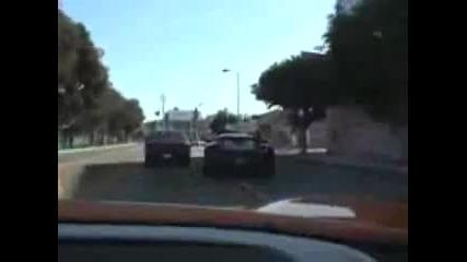 Две Поршета Gt Тероризират Калифорния