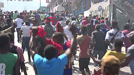 Haiti: Clashes erupt as protesters demand removal of President Moise