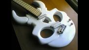 Homemade Skull Guitar
