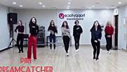 Mirrored kpop random dance game girl groups