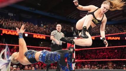 Ronda Rousey vs. Dana Brooke - Raw Women's Championship Match: Raw, March 18, 2019