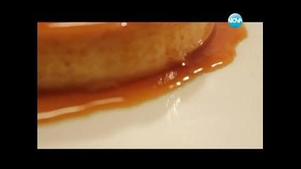 Портокалов крем карамел, крем супа от праз, мусака в бохча - Бон апети (25.01.2013г.)