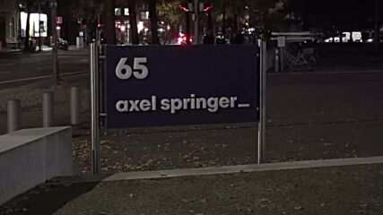 Germany: Lights on in Axel Springer HQ as 'Bild' editor-in-chief Julian Reichelt gets fired