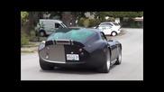 Rare!! Shelby Cobra Daytona Wheelspin, Startup, Acceleration