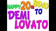 Happy Birthday Demi Lovato