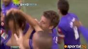 Милан се отдалечи от титлата след като загуби от Фиорентина с 1:2