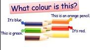 Уча.се - What's this? Изречения и цветове - Английски език начално ниво - 2 клас
