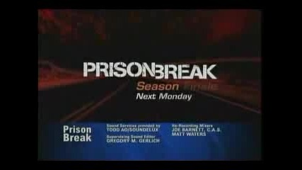 Prison Break - Season 2 Finale Promo