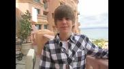 Justin Bieber говори за войната Jonas vs. Bieber