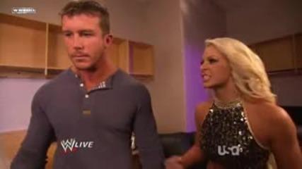 Wwe Raw 11_29_10 Ted Dibiase & Maryse Backstage Segment