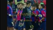 Marc Overmars (barcelona) vs Valencia 2000/2001