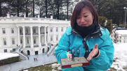 Biden administration figurines take up residence in Japanese miniature park's White House