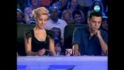 Мулатката Прея Осaсей, която впечатли журито с глас си на X Factor - 14.09.11