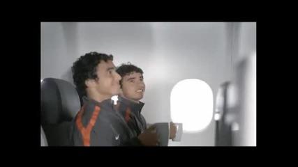 Реклама на Тюркиш Еърлайнс с Манчестър Юнайтед и Бербатов