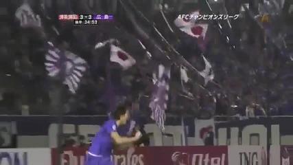 Ето така се изпълнява дузпа в Япония.