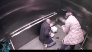 Шокиращи случки в асансьори, заснети от охранителни камери