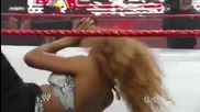 Raw 6/07/09 - Gail Kim & Mickie James vs. Maryse & Alicia Fox