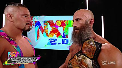 Tommaso Ciampa and Bron Breakker come face-to-face after NXT Title Match: WWE NXT, Sept. 14, 2021