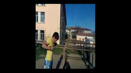 Street Fitness Shumen Uprajneniq