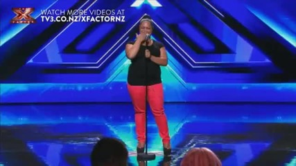 Ashley Tonga audition - Proud Mary - The X Factor Nz
