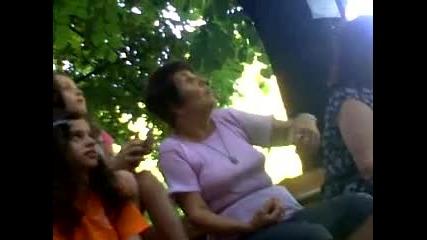 Полудяла плевенска бабка