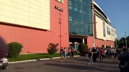 Евакуираха посетителите на Мол Варна