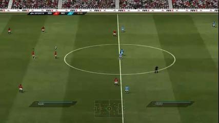 "Online Fifa 11 2v2 Me and Frozen97 ""разбиване за 25 мин ;д"""