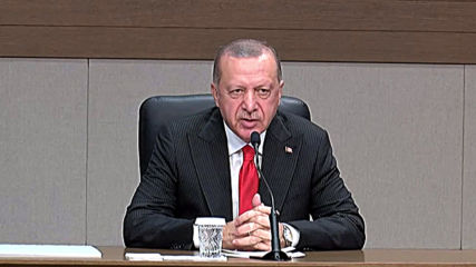 Turkey: 'Who will you side with, with terrorists?' - Erdogan to NATO members