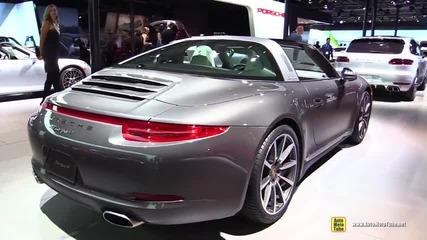 Уникалнoст: 2015 Porsche 911 Targa 4