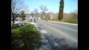 Протест на пътя Варна - Бургас