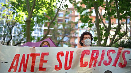Spain: Student protesters demand quality public education in Madrid