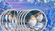 Зимний проект - Зимняя сказка ( Стиль Веер)
