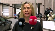 Belgium: Mogherini urges Turkey to restart Kurdish peace process