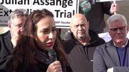 UK: Ordering extradition for Julian 'tantamount to killing him' - Assange's fiancee