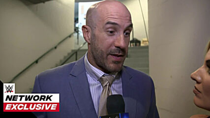 Cesaro is very interested in who wins SmackDown's Hell in Cell Match: WWE Network Exclusive, June 18, 2021